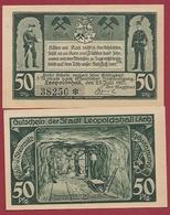 Allemagne 1 Notgeld 50 Pfenning Stadt Leopoldshall (RARE) Dans L 'état Lot N °5763 - [ 3] 1918-1933 : República De Weimar