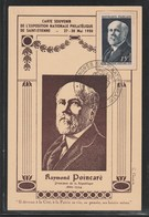 Raymond Poincaré - Exposition Philatélique - Paris 27 Au 30 Mai 1950 - TTB (Lot COM 36) - Maximum Cards