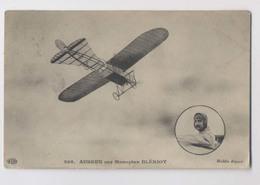 AUBRUN Sur Monoplan Blériot - Avion - Aviateur - Airmen, Fliers