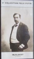 Jean-Antoine Injalbert Sculpteur Né à Beziers Prix De Rome  -  Beaux Arts - 2ème Collection Photo Felix POTIN 1908 - Félix Potin