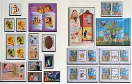 2010 Europa-CEPT Children Books Complete Year Set With Blocks And Sheets From Booklets - 2010