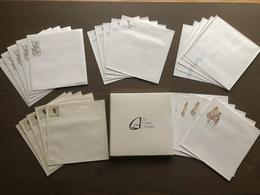 Cofanetto Contenente 25 Buste Quadrate Con Disegno Di Hugo Pratt In 5 Soggetti Diversi - Tarjetas De Regalo