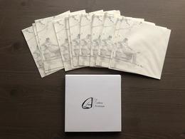 Cofanetto Contenente 20 Buste Quadrate Con Disegno Di Hugo Pratt - Tarjetas De Regalo