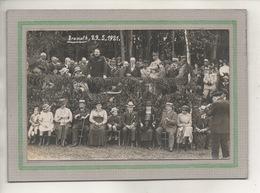 CPA - (67) BRUMATH - Carte-Photo De La Tribune Des Officiels Pendant La Fête Commémorative Du 29 / 5 / 1921 - Brumath