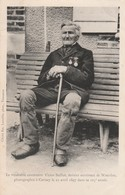 "CPA:CARISEY (89) VÉRITABLE CENTENAIRE ""VICTOR BAILLOT"" DERNIER SURVIVANT DE WATERLOO 105 E ANNÉE - Other Municipalities"
