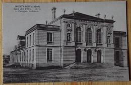 45 : Montargis - Salle Des Fêtes - Carte Issue D'un Carnet - (n°17327) - Montargis
