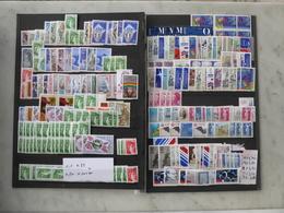 FRANCE FACIALE Timbres En Francs Entre 1,10 Francs Et 4,00 Francs MOINS 55 %  Voir 2 Scans - Collections