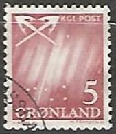 DANEMARK / GROELAND N° 37 OBLITERE - Groenland