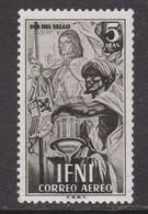 IFNI 1951 - Sello Nuevo Con Fijasellos Edifil Nº 71 -MH- - Ifni