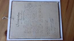 Cadre - Consécration Au Sacré-Coeur - Aout 1916. Montpellier - Religion & Esotérisme