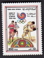 Yemen Arab Republic 1989 / Olympic Games Seoul 1988 / Football, Judo / Mi 1867 / MNH - Ete 1988: Séoul