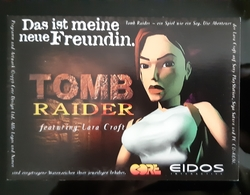 TOMB RAIDER Carte Postale - Unclassified
