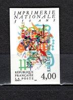 FRANCE  N° 2691a   NON DENTELE  NEUF SANS CHARNIERE  COTE 15.00€   GUTENBERG - Imperforates