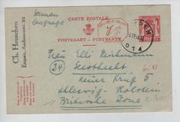 CBPN164/ Entier CP Trilingue C.Eupen 6/11/46 > Allemagne Britische Zone German Language - Cartoline [1934-51]