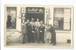 Waterloo ?  Cpa Pk Carte Photo Fotokaart Brasserie Brouwerij VOX La Lorraine Tres Rare Coca Cola - Waterloo