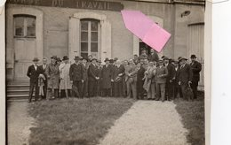 AUXERRE Bourse Du Travail (89) Yonne .non Cpa.. PHOTO  Animée 12 X 9 Cms - Auxerre