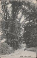 Park Road, Luton, Bedfordshire, 1906 - Boots Pelham Postcard - Angleterre