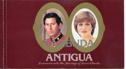 Barbuda Mi# Markenheftchen 576-82 Postfrisch MNH - Diana Royal Wedding - Antigua Und Barbuda (1981-...)