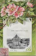 CPA -Carte Postale En Relief -Italie- ROMA - S. Pietro E Colomato (écritée En 1910) - San Pietro