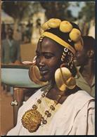 °°° 19057 - SENEGAL - JEUNE FEMME PEULH - 1980 With Stamps °°° - Senegal