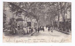 SALON - Le Cours Gimon (Animée,  Circulée) - Salon De Provence