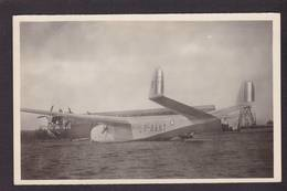 CPA Aviation Hydravion Seaplane Réal Photo Non Circulé Voir Scan Du Dos Latécoère Lionel De Marmier - 1919-1938: Entre Guerres