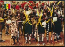 °°° 19059 - SENEGAL - DANSE BASSARI - 1975 With Stamps °°° - Senegal
