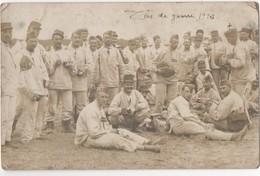 Militaria - WW1 - Carte Postale Photographique D'un Groupe De Soldats. Carte Postale NB De Romorantin Le 9 Octobre 1918 - France