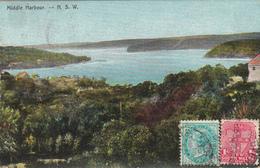 976/ Middle Harbour, 1906 - Australia