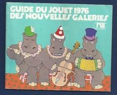 PUBLICITÉ - NOUVELLES GALERIES - NG - GUIDE DU JOUET 1976 - Publicités
