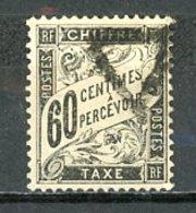 France   Y&T   TX  21    Obl    ---    Bel état - 1859-1955 Used