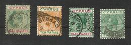 Chypre N°46, 56, 57, 70 Cote 3.50 Euros - Gebraucht