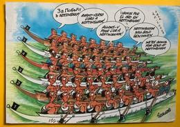 10010  - Carte Humoristique Championnat Du Monde Nottingham 26.08.1986 - Rowing