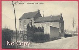 Beverst  Bilzen Flandern Belgium : School Der Eerw. Zusters Krieg 1914-18 / Stempel Bahnpost Zug 354 Luttich - Hasselt - Belgique