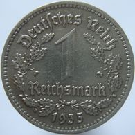 LaZooRo: Germany 1 Mark 1935 A XF / UNC - [ 4] 1933-1945 : Troisième Reich