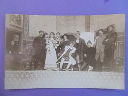 BONN ( RHENANIE ) CARTE PHOTO - Occupation 1923 - Représentation De GRINGOIRE  - Foyer Du SOLDAT    ( A Voir état ) - Bonn