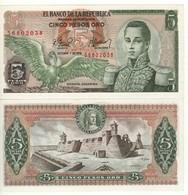 COLOMBIA  5 Pesos  Oro  P406f   (1.10.1978)   UNC - Colombia