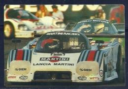 1989 Pocket Poche Calendar Calandrier Calendario Portugal 24H Le Mans Lancia LC2 V8 Turbo N 1 - Calendars