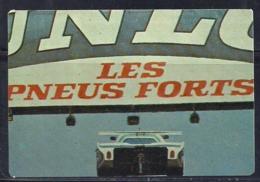 1989 Pocket Poche Calendar Calandrier Calendario Portugal 24H Le Mans Jaguar XJR-5 V12 N7 - Calendars