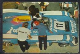 1989 Pocket Poche Calendar Calandrier Calendario Portugal 24H Le Mans Renault Mirage VS Turbo N12 - Calendars
