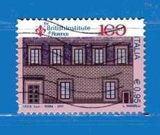 ITALIA - 2017 - BRITISH INSTITUTE Of FLORENCE.  Unif. 3836.  Usato - 6. 1946-.. República