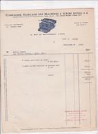 69-Royal S.A ..Compagnie Française Des Machines à Ecrire....Lyon..(Rhône)..1944 - Francia