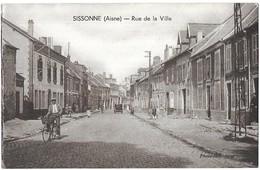 Sissonne Rue De La Ville - Sissonne