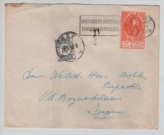 CBPN171/ TP 881 (UPU) S/L.c.Gent 1952 Griffe T > Izegem Taxée 50c TTx 39 C.Izegem 17/12/52 - Briefe U. Dokumente
