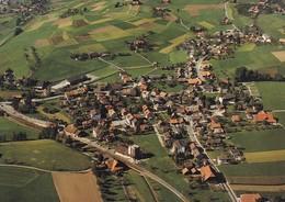 **  Flugaufnahme Dorf Zäziwil - BE Berne