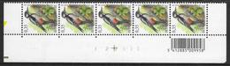 Buzin. 3162xx Grote Bonte Specht/Pic épeiche. Datumstrook 21/03/03 Bande Datée. Diepdrukplaat Nr E22939 - Onpaar/impair - 1985-.. Birds (Buzin)