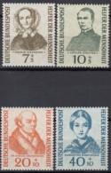 BRD 222-225, Postfrisch **, Wohlfahrt: Helfer Der Menschheit, 1955 - [7] République Fédérale