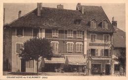 K509 . 01 . CHAMPAGNE En VALROMEY . Hotel . - France