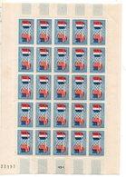 St  Amitie Franco Americaine 1949 N°840 ** - Full Sheets