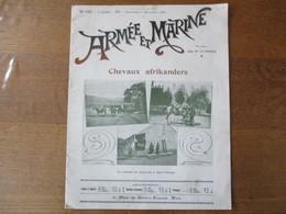 ARMEE ET MARINE DU 1er DECEMBRE 1901 LES CANONNIERS BOURGEOIS DES VILLES DU NORD,LA CHAUDIERE NICLAUSSE DANS LES MARINES - French